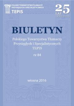 TEPIS Biuletyn 84