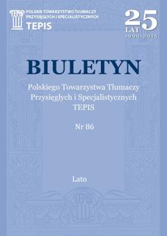TEPIS Biuletyn 86